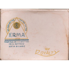 WW2 German Captured French Cigarettes, Erma, Royalty, For Front Line Soldiers Only  c721