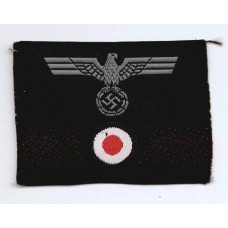 WW2 German Panzer Tank Crew Eagle and Cockade Cap Insignia