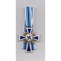 WW2 German Mother's Cross Medal in Silver